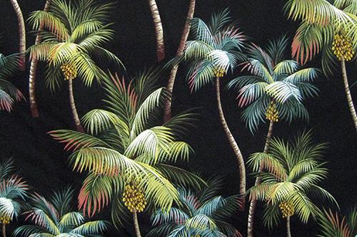 Palm Trees Black
