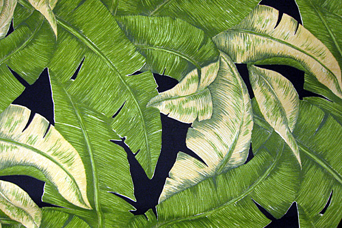 Banana Leaf Black