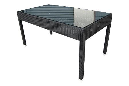 ポリエチレンファイバー ウィッカー ダイニング テーブル