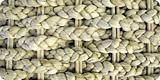 日本名ホテイアオイ。淡水に繁殖する水草を乾燥させて編みこんだ物