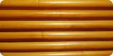 太いラタン材は竹と違い中が詰まっていて自在に湾曲させることが出来るのが特徴です。