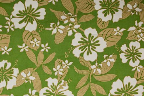 Tahitian Hibiscus Lagoon Green <完売>