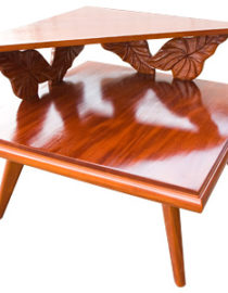 マホガニー コアスタイル コーナーテーブル