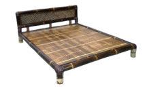 バンブー 4レッグスタイル ベッド