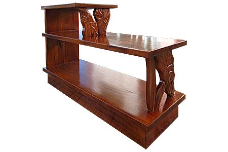 アカシアウッド ステップエンドテーブル
