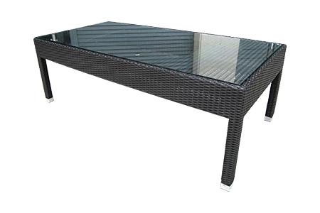 ポリエチレンファイバー ウィッカー コーヒー テーブル