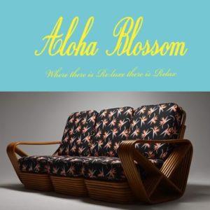 Aloha Blossom キング スクウェアプレッツェルソファ