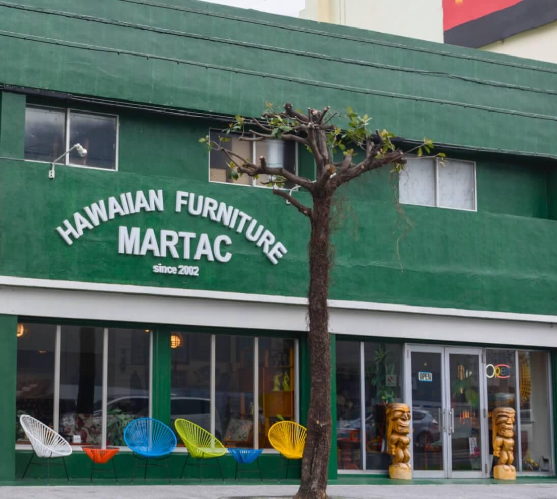 ハワイアン家具専門店 マータクは、ソファ・テーブル・ハワイアンインテリアを全国へ通販。
